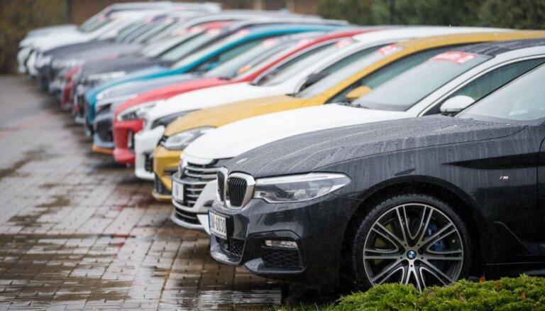 Latvija ir starp 13 Eiropas valstīm ar jaunu auto reģistrācijas kāpumu
