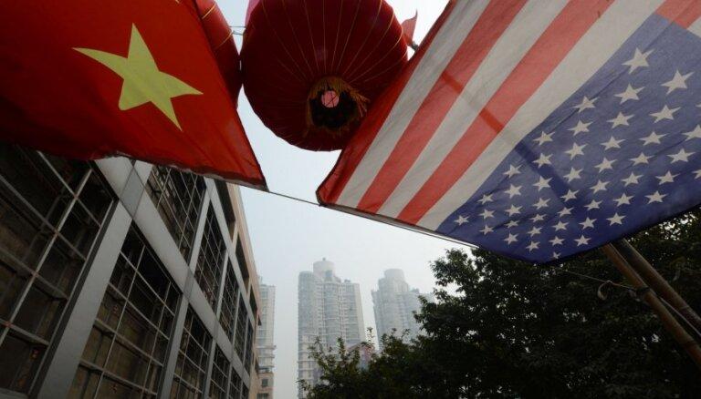 Ķīna piemēros jaunus muitas tarifus ASV precēm 75 miljardu dolāru apmērā