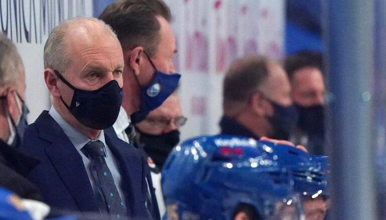 'Sabres' galvenais treneris Krīgers inficējies ar Covid-19