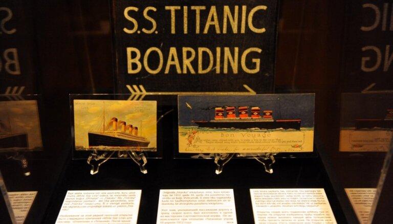 """ФОТО: В Риге открылась выставка, посвященная """"Титанику"""""""
