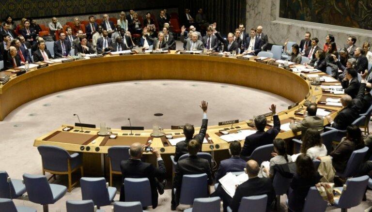 Эстония впервые выбрана в Совет Безопасности ООН