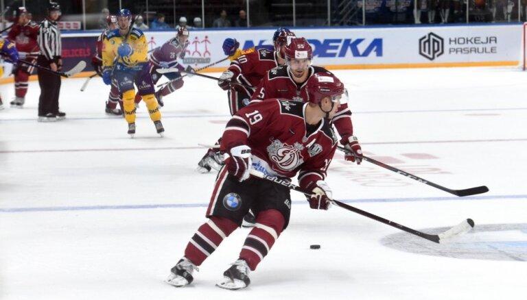 Rīgas 'Dinamo' trešo reizi triumfē 'Latvijas Dzelzceļa' kausā