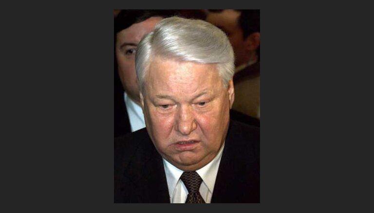 Ельцин вышел на пенсию