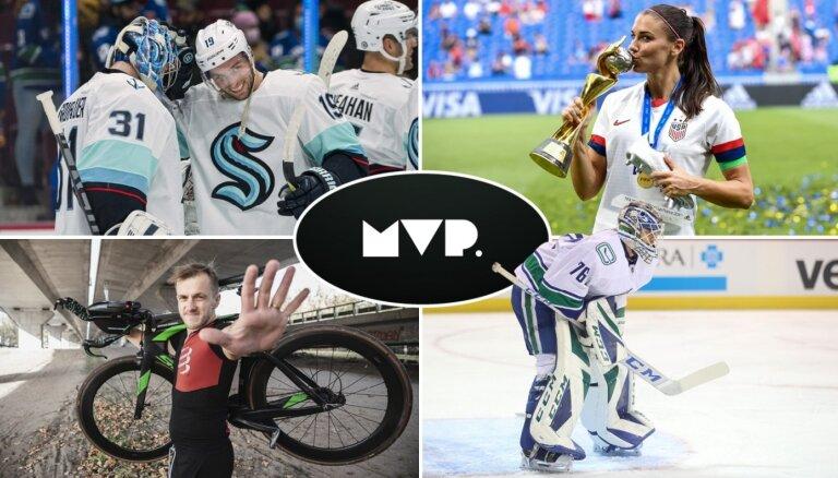 'MVP': Ekskluzīvi ar Jāni Timmu, pieci latvieši uz NHL sliekšņa un triatlons Eirovīzijas vietā