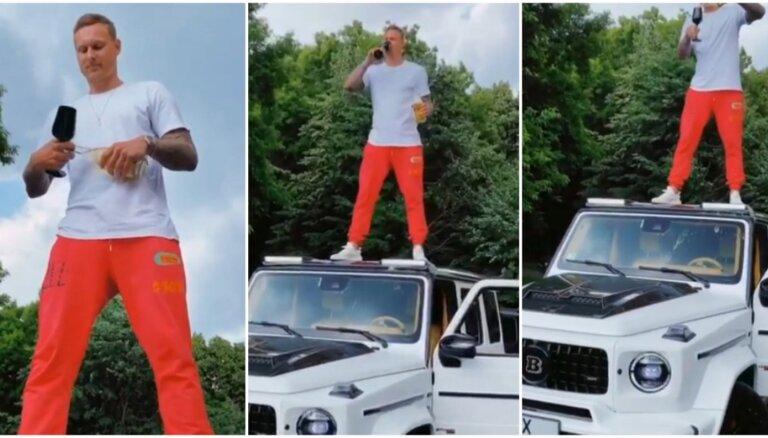 Video: Basketbolists Jānis Timma varen šiki svin savu 28. dzimšanas dienu