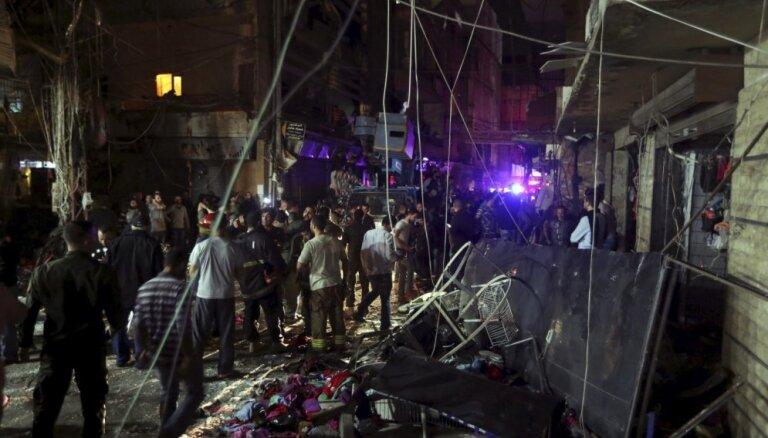 Два взрыва в Бейруте: десятки погибших и раненых