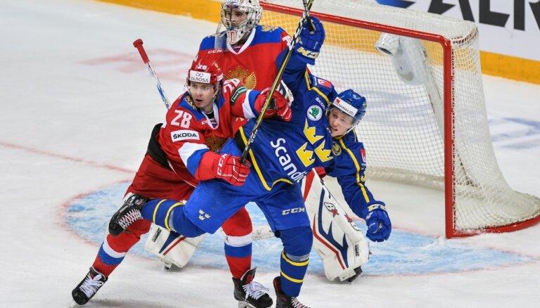 Сборная России по хоккею проиграла шведам на старте чешского этапа Евротура