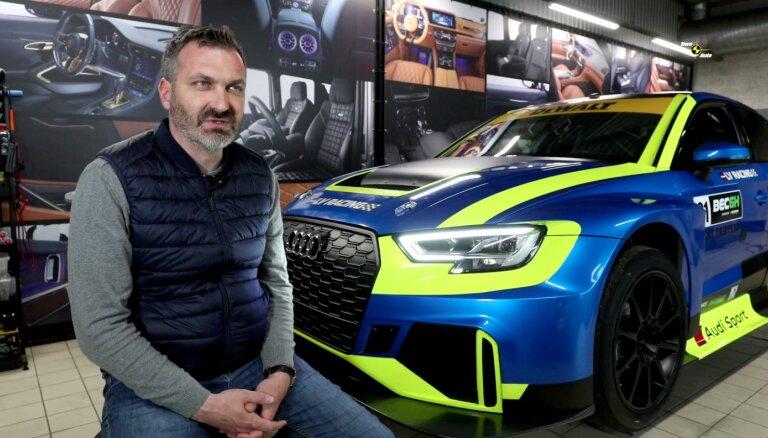 Video: Latvijā pirmais iegādātais TCR klases 'Audi RS3 LMS'