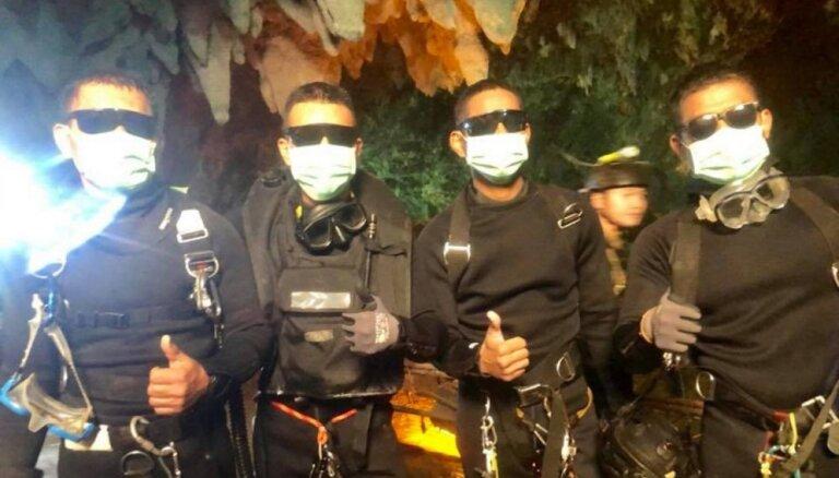 Taizemes zēnu glābšana: 'Cerība kļuva par realitāti'