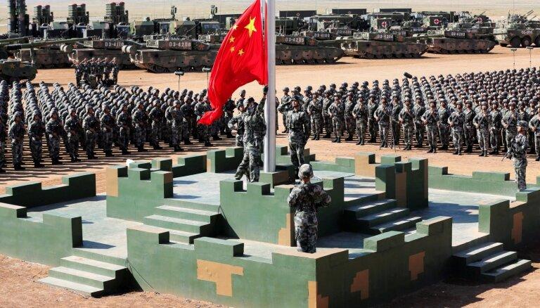 Ķīna būvēs militārās bāzes visā pasaulē, prognozē Pentagons