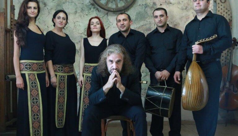 Festivālā 'Ad Lucem' uzstāsies armēņu etnodžeza grupa 'Naghash Ensemble'