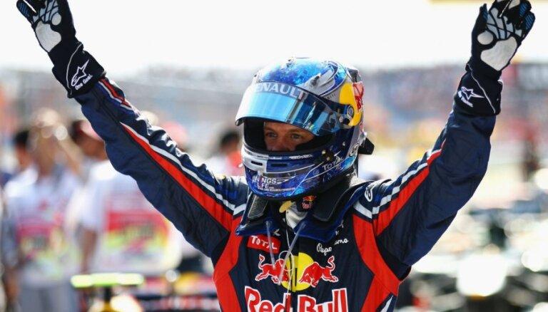 Ф-1. Феттель впервые в сезоне победил в квалификации