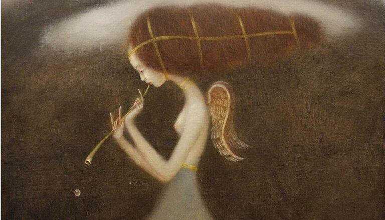 Rīgā būs igauņu mākslinieka Eduarda Zentsika izstāde 'Dvēsele'