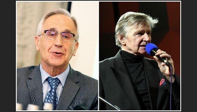 'Zelta mikrofona' balvas par mūža ieguldījumu saņems Erenštreits un Lapčenoks