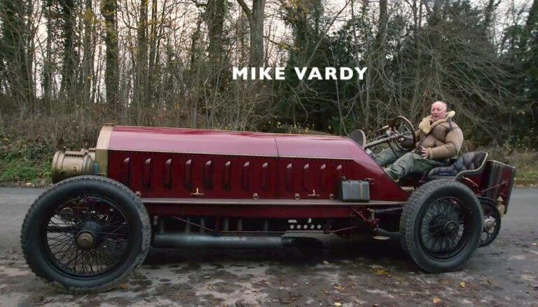 1905. gada 'Fiat' ar lidmašīnas motoru