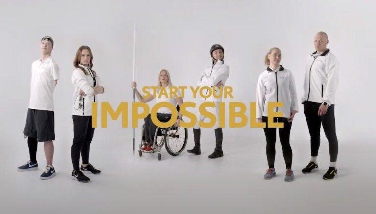 'Toyota' Baltijas paralimpiskā komanda