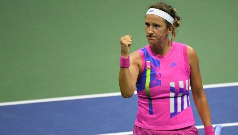 'US Open': Azarenka lauž spēles gaitu un pieveic Serēnu Viljamsu
