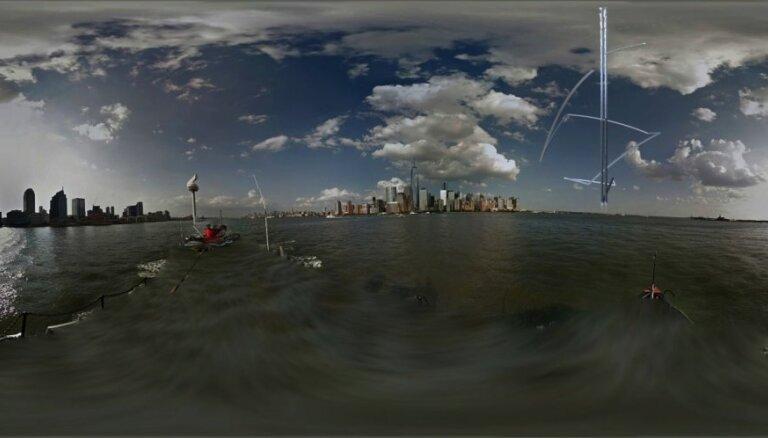 Mākslinieks Gints Gabrāns 'atklās' SAN ofisu debesskrāpjus Dubajā, Šanhajā, Ņujorkā