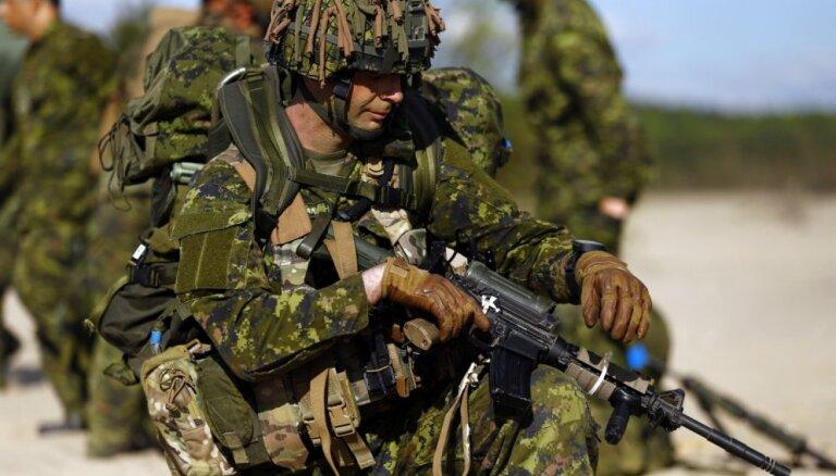 Франция отправит в Эстонию 300 солдат и несколько танков
