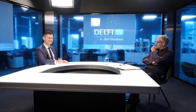 'Delfi TV ar Jāni Domburu' – atbild maksātnespējas administrators Armands Rasa. Pilna intervija
