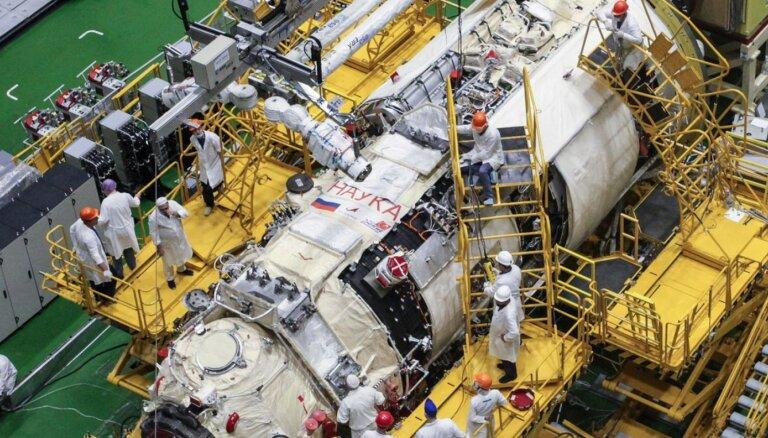 Pēc gadiem ilgušas kavēšanās beidzot būtiski paplašinās Starptautisko kosmosa staciju