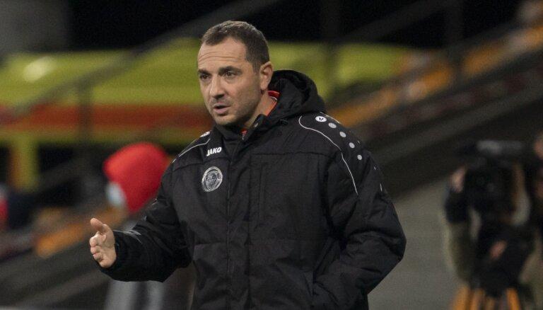 'Riga' FC mazākumā nospēlē neizšķirti ar 'Mettu'