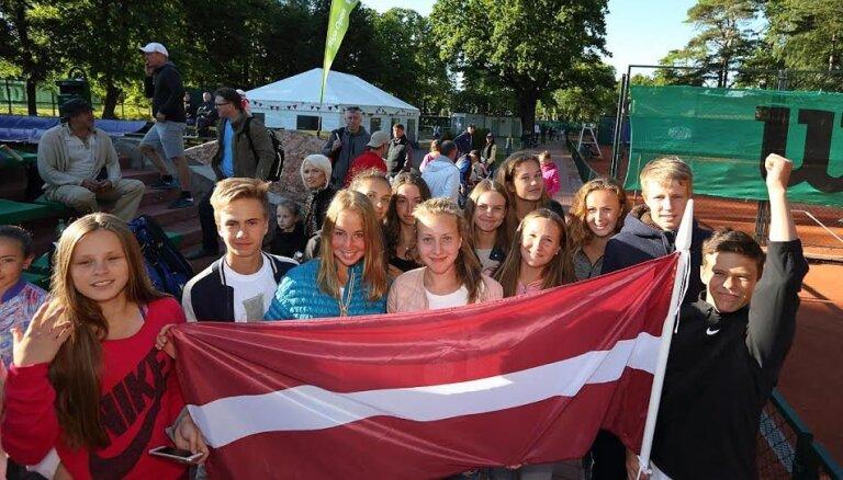 В Межапарке проходит крупнейший юношеский теннисный турнир в Европе