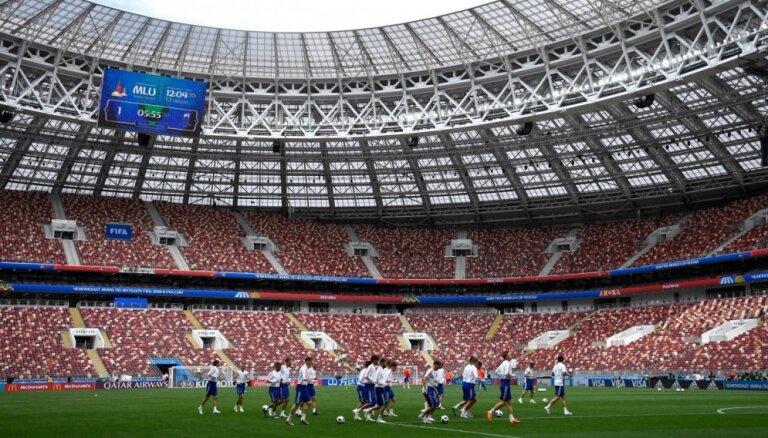 FIFA Krievijas izlasi palūgusi netrenēties 'Lužņiku' stadionā