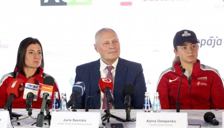Звезды тенниса в Риге: Остапенко и Севастова сыграют со сборной Словакии