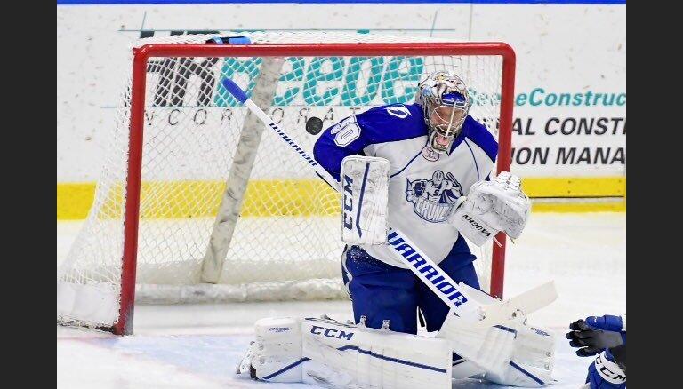 ВИДЕО: Гудлевскис впервые вышел на лед в плей-офф, Евпалов травмирован