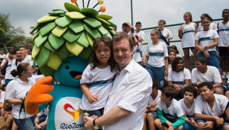 Par jauno Starptautiskās Paralimpiskās komitejas prezidentu kļuvis brazīlietis Pārsonss