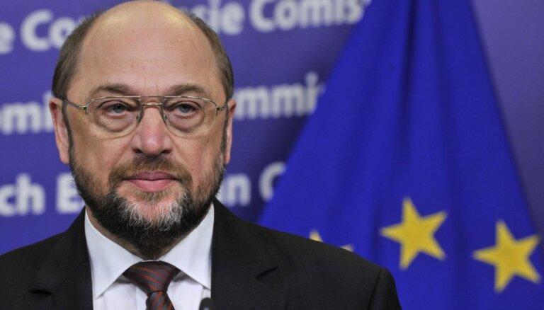 EP prezidents Martins Šulcs grib būt EK šefs