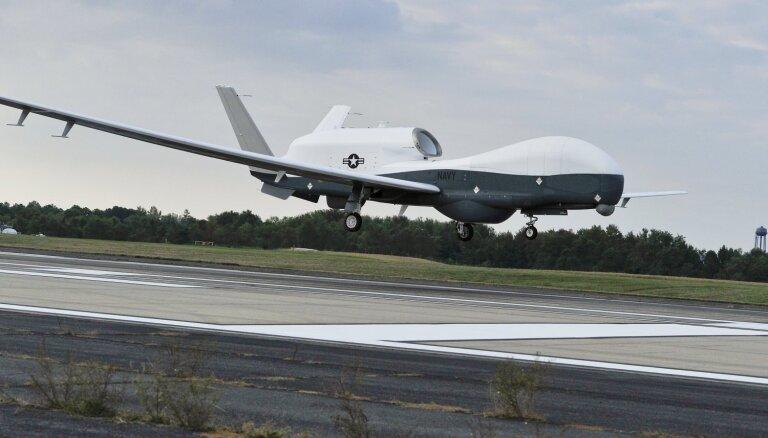 Irāna virs Hormuza šauruma notriekusi ASV dronu