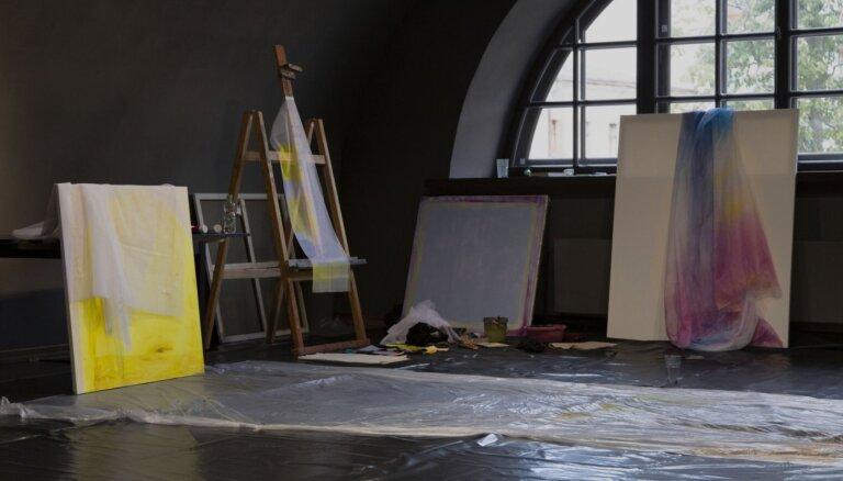 Atklās simpozija 'Mark Rothko' noslēguma izstādi