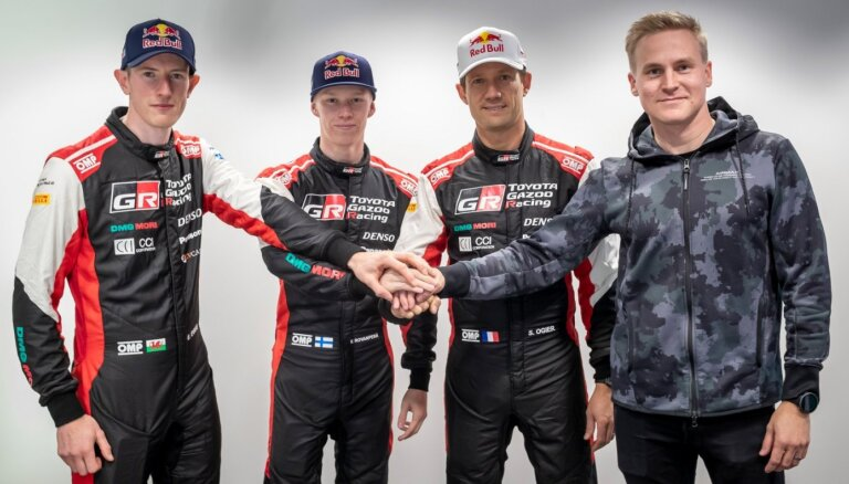 'Toyota Gazoo Racing' savam sastāvam pievieno vēl vienu WRC uzvarētāju