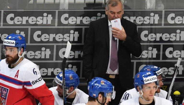 Pēc zaudējuma ASV Čehijas izlases treneris paziņo par karjeras beigām