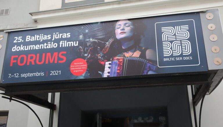 Foto: Ar filmu par Baltkrieviju sākuses Baltijas jūras dokumentālo filmu foruma skate