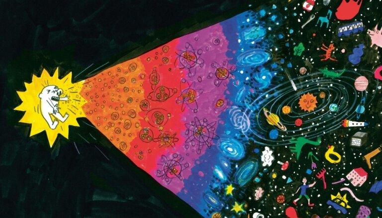 Izdots Jura Kronberga dzejoļu krājums bērniem ar Anetes Meleces ilustrācijām