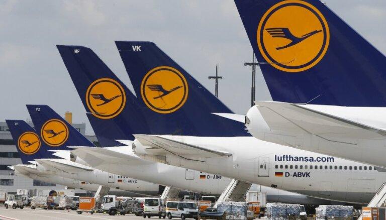Убытки Lufthansa взлетели до 1,5 млрд евро