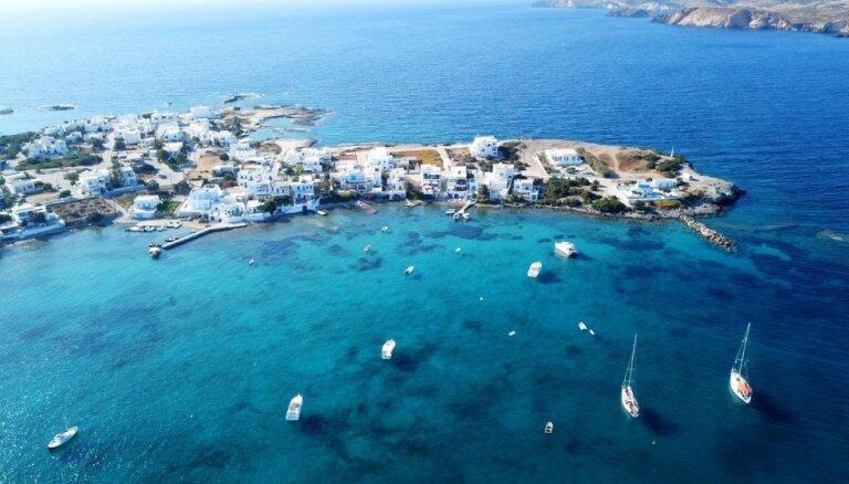 Līdz galam neatklātā Grieķijas paradīze – Mila: sala, kur izsprukt no tūristu pūļiem