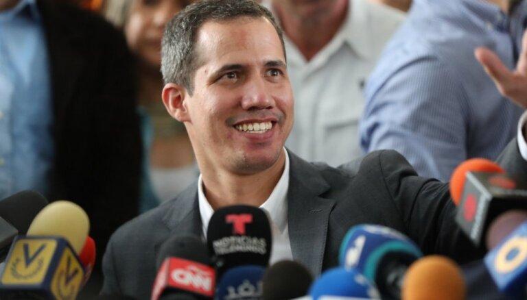 Gvaido pēc sarunām Norvēģijā atkal aicina Maduro atkāpties