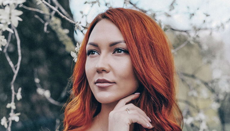 На конкурсе красоты Латвию представит девушка с огненными волосами