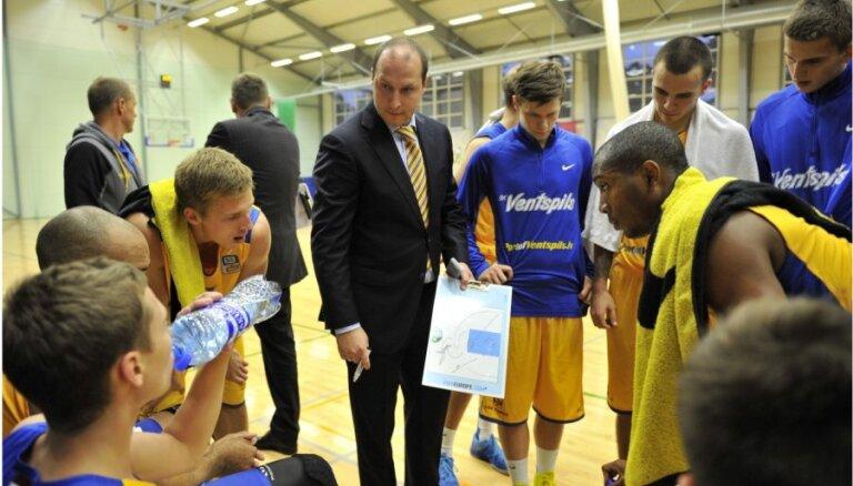 'Ventspils' basketbolistiem pirmā spēle Izaicinājuma kausā savu līdzjutēju priekšā