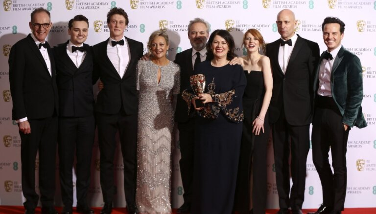 BAFTA ceremonijā kā labāko filmu apbalvo '1917'