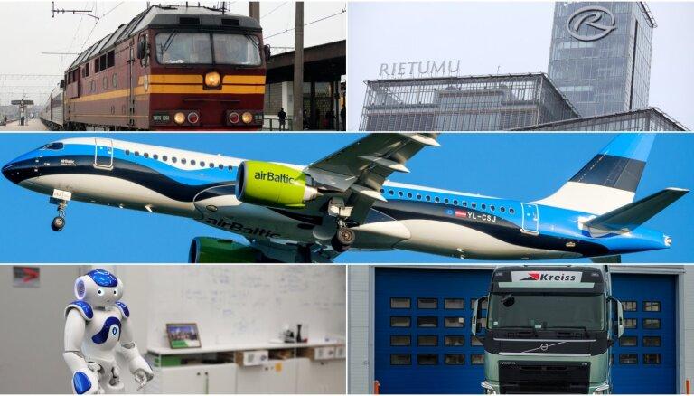 Jaunākais reitings: top 50 pakalpojumu eksportētāji Latvijā