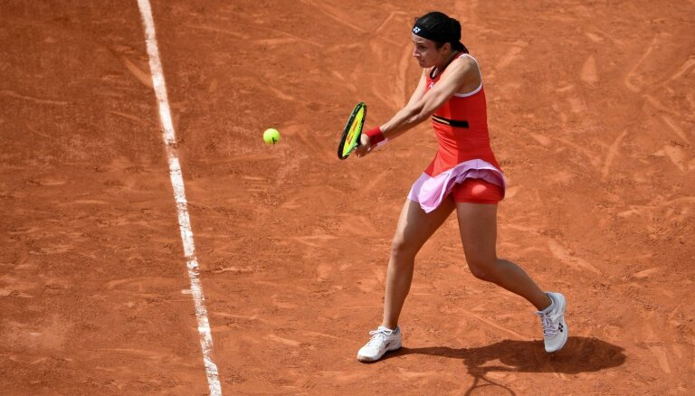 Sevastova piedzīvo zaudējumu 'French Open' dubultspēļu pirmajā kārtā