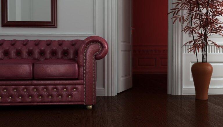 Piesātinātais bordo – kulta krāsa ne tikai apģērbā, bet arī interjerā