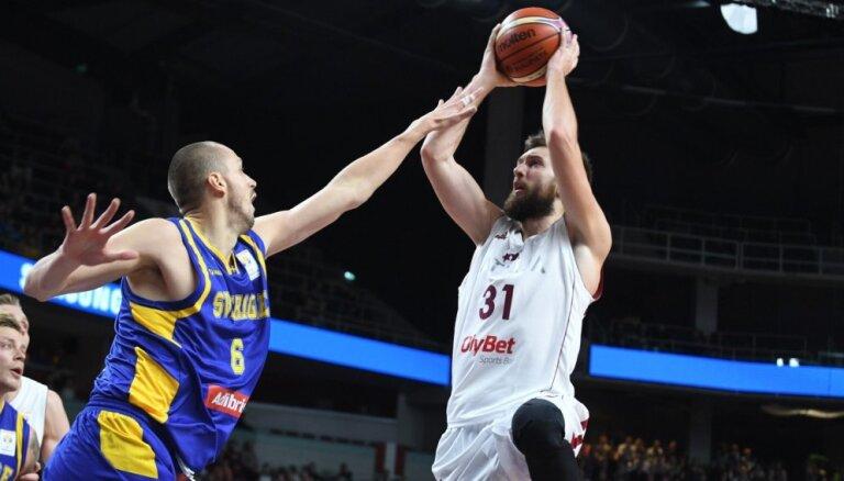 Сборная Латвии победила Швецию и вышла во второй этап квалификации ЧМ-2019