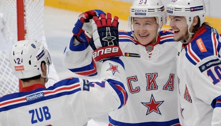 "СКА установил рекорд Континентальной хоккейной лиги, ""Сибирь"" — антирекорд"