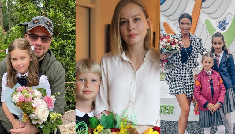 Дети звезд пошли в школу, минимум 10 тысяч на жизнь в Латвии и другие события недели
